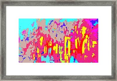 Fires And Passion One Framed Print