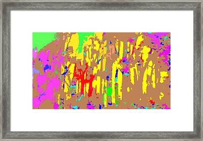 Fires And Passion Three Framed Print