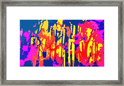 Fires And Passion Two Framed Print