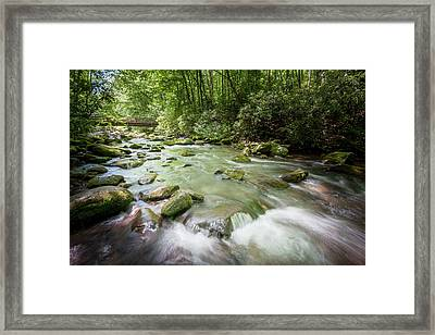 Framed Print featuring the photograph Fires Creek, North Carolina by Mark Duehmig