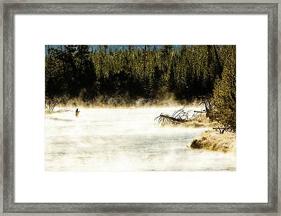 Framed Print featuring the photograph First Fish by Pete Federico