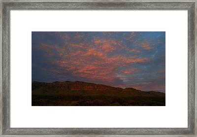 First Light Over Texas 3 Framed Print