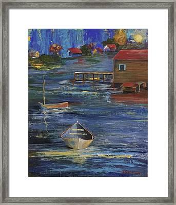 Fishermen's Retreat Framed Print