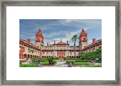 Flagler College - Saint Augustine - 1888flaglercollegestagustine091612 Framed Print