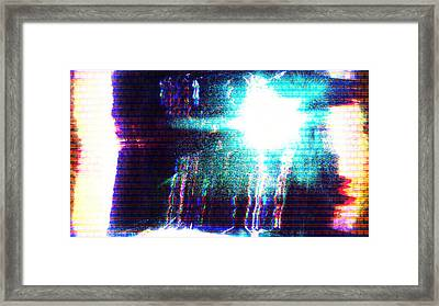 Framed Print featuring the photograph Flashlight by Bee-Bee Deigner