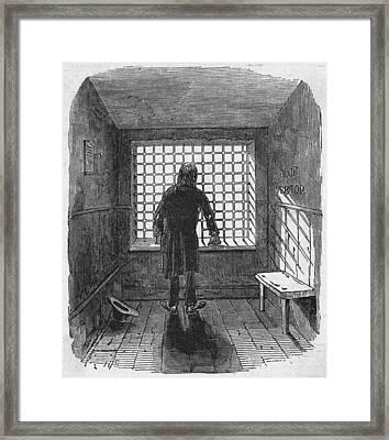 Fleet Prison Framed Print by Hulton Archive