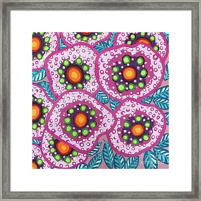 Floral Whimsy 10 Framed Print