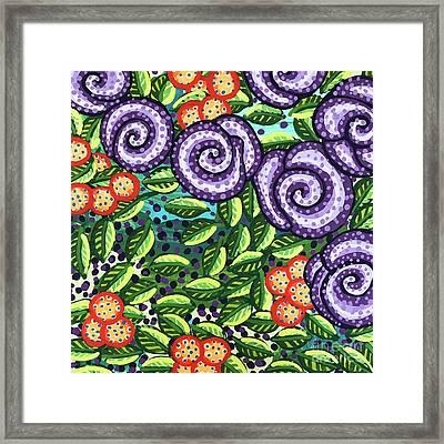 Floral Whimsy 11 Framed Print