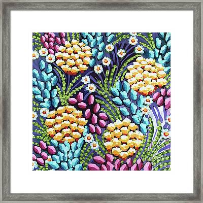 Floral Whimsy 2 Framed Print