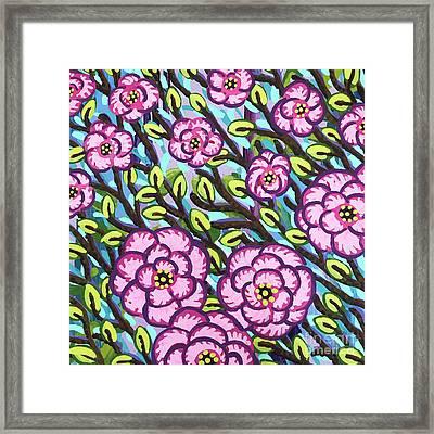 Floral Whimsy 3 Framed Print