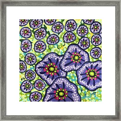 Floral Whimsy 4 Framed Print