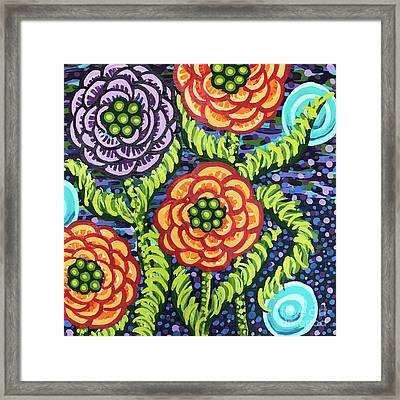Floral Whimsy 5 Framed Print