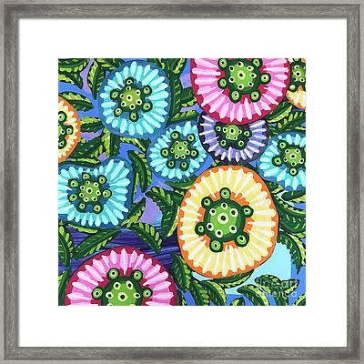 Floral Whimsy 6 Framed Print
