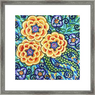 Floral Whimsy 9 Framed Print