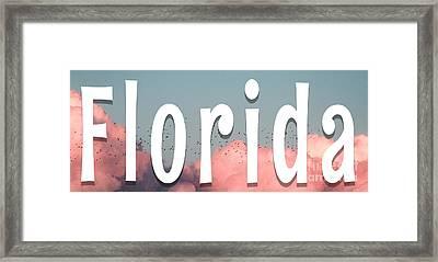 Florida Mug Framed Print
