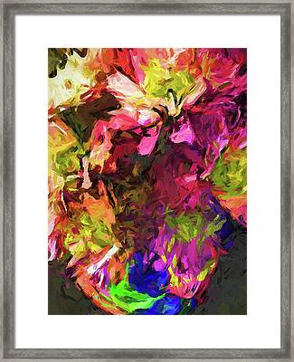 Flower Colour Love 1 Framed Print