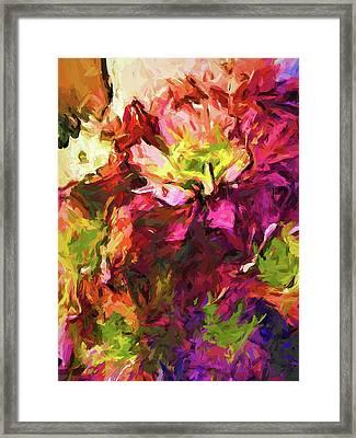 Flower Colour Love 2 Framed Print