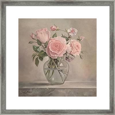Flowers Vase Framed Print