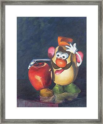 Forbidden Fruit Framed Print