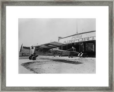 Ford Airport Framed Print by General Photographic Agency