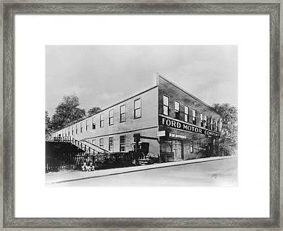 Ford Factory Framed Print by Keystone Features