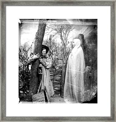 Forest Apparition Framed Print by London Stereoscopic Company