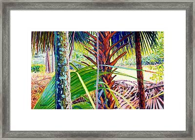 Forest Prayer Framed Print
