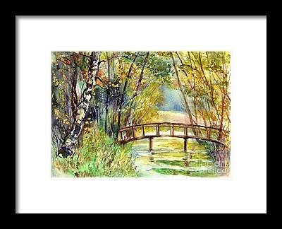 Beaver Pond Framed Prints