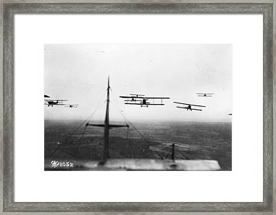 Formation Flying Framed Print by Hulton Archive