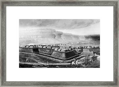 Fort Stanwix Framed Print by Fotosearch