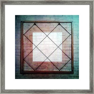 Four - Wall Framed Print