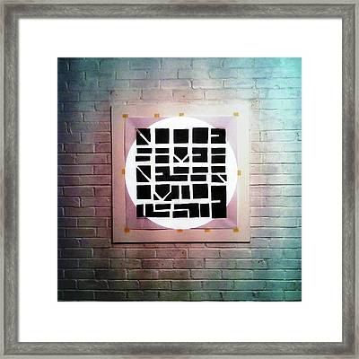 Fourteen - Wall Framed Print
