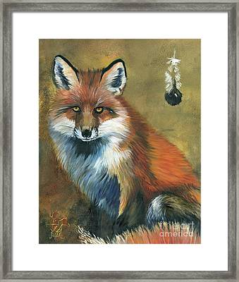 Fox Shows The Way Framed Print