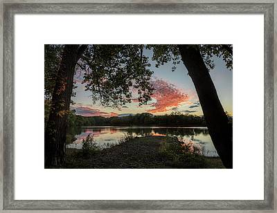 Framed Print featuring the photograph Framed by Scott Bean