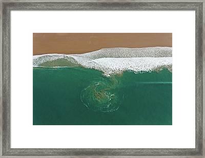 France, Manche, Baubigny, Beach, Tidal Framed Print by Cormon Francis / Hemis.fr