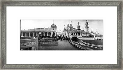 Franco-british Fair Framed Print by London Stereoscopic Company