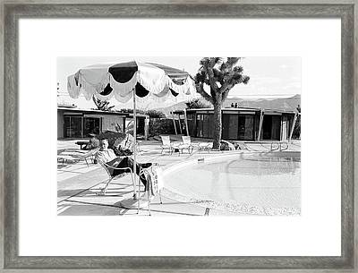 Frank Sinatra At Home Framed Print