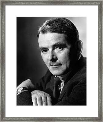 Frank Whittle Framed Print by Baron