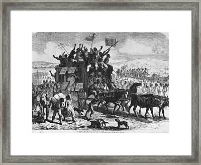 Freedom Framed Print by Hulton Archive