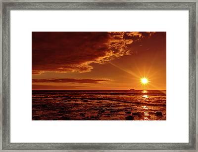 Friday Sunset Framed Print