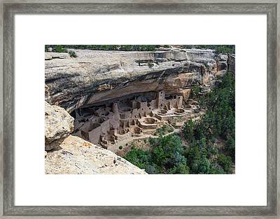From Above The Rim Framed Print