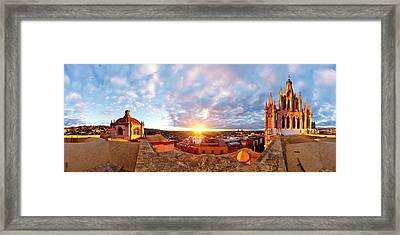 From Inmaculada Concepcion Church Framed Print