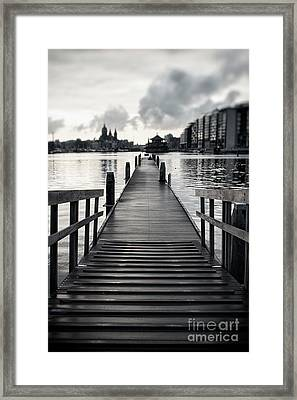 From The Solid Ground... Framed Print