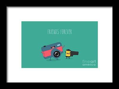 Objective Framed Prints