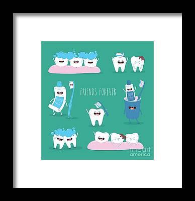Dentistry Framed Prints