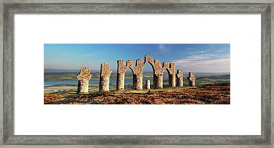 Framed Print featuring the photograph Fyrish Monument - Alness by Grant Glendinning