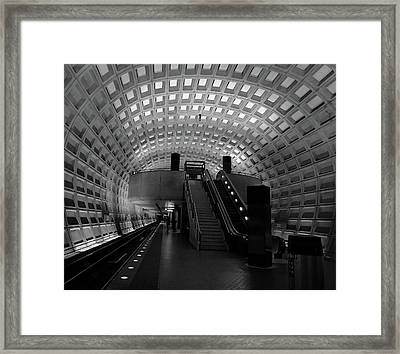Gallery Place Framed Print