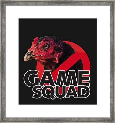 Game Squad Framed Print