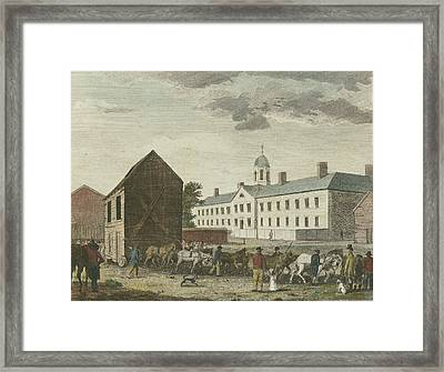 Gaol In Walnut Street Framed Print