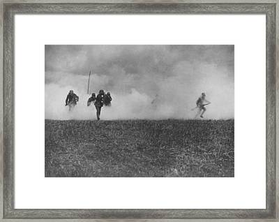 Gas Drill Framed Print by General Photographic Agency